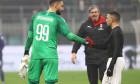 Gianluigi Donnarumma și Ismael Bennacer, jucătorii lui AC Milan / Foto: Getty Images
