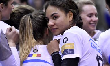 Elizabeth Omoregie, handbalista de la CSM București / Foto: Sport Pictures