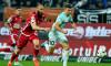 Florin Tănase, în duel cu Ante Puljic, în timpul meciului Dinamo - FCSB / Foto: Sport Pictures