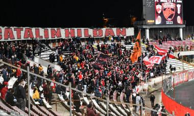 Peluza Cătălin Hîldan, la Dinamo - Astra / Foto: Sport Pictures