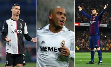 Cristiano Ronaldo, Ronaldo Nazario și Leo Messi