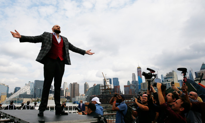 Deontay Wilder v Tyson Fury - New York Press Conference