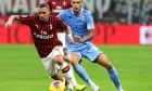 Ismael Bennacer, în duel cu Joaquin Correa, în AC Milan - Lazio / Foto: Getty Images