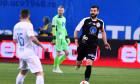 Marius Constantin, căpitanul lui Gaz Metan Mediaș, în meciul cu U Craiova / Foto: Sport Pictures