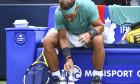 Ritualul lui Rafael Nadal cu sticlele / Foto: Getty Images