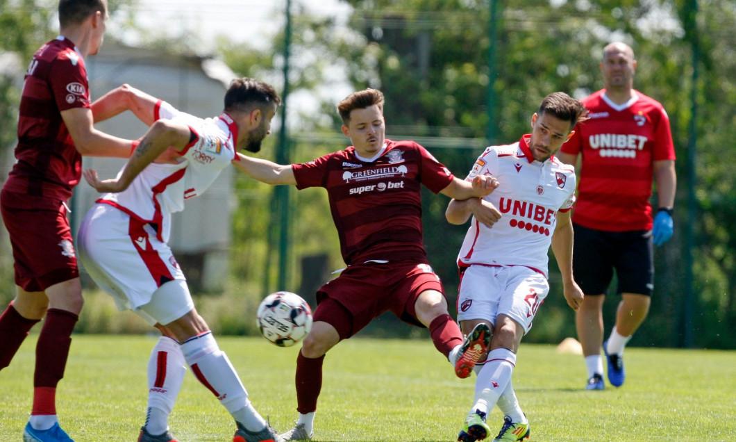 Dinamo a învins Rapid cu 1-0, într-un meci amical / Foto: Facebook/FC Dinamo București