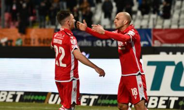 Slavko Perovic a adus victoria lui Dinamo în amicalul cu Rapid / Foto: Sport Pictures