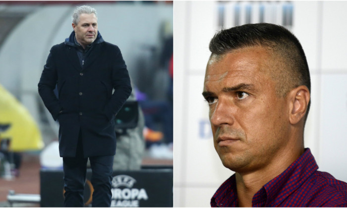 Marius Șumudică și Daniel Pancu