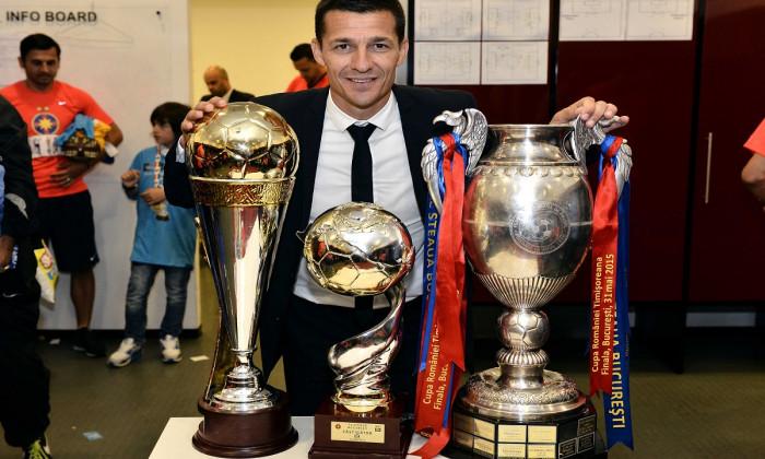 FOTBAL:STEAUA BUCURESTI-UNIVERSITATEA CLUJ NAPOCA, FINALA CUPEI ROMANIEI TIMISOREANA (31.05.2015)