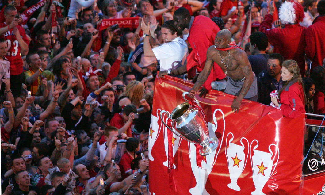 Liverpool Celebrate Champions League Victory With Parade