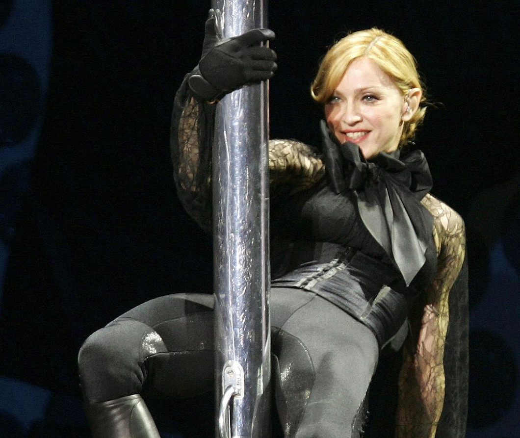 Madonna In Concert During Confessions Tour
