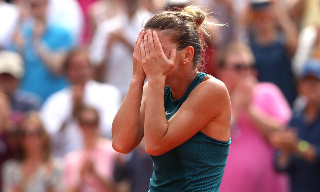 Simona Halep, la Roland Garros 2018 / Foto: Getty Images