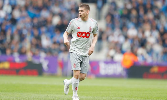 Răzvan Marin, în tricoul lui Standard Liege / Foto: Profimedia