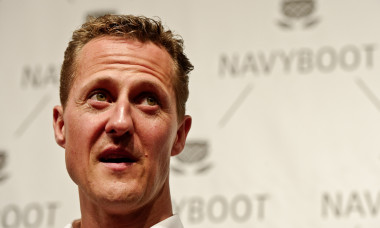 NAVYBOOT And Michael Schumacher Launch Limited Sneaker Edition Prior To Shanghai F1 Grand Prix