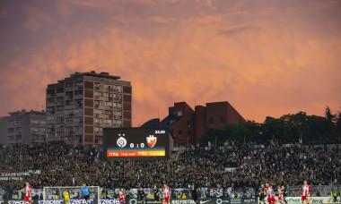 FK Crvena Zvezda v FK Partizan, Serbian Cup semi final football match, Partizan Stadium, Belgrade, Serbia - 10 Jun 2020