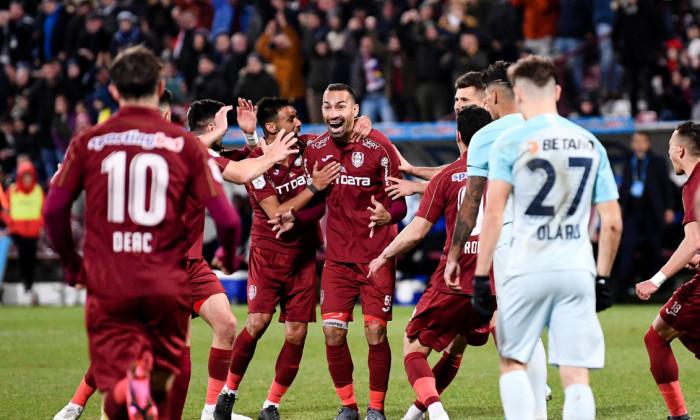 CFR Cluj a învins FCSB cu 1-0 în ultimul meci direct / Foto: Sport Pictures