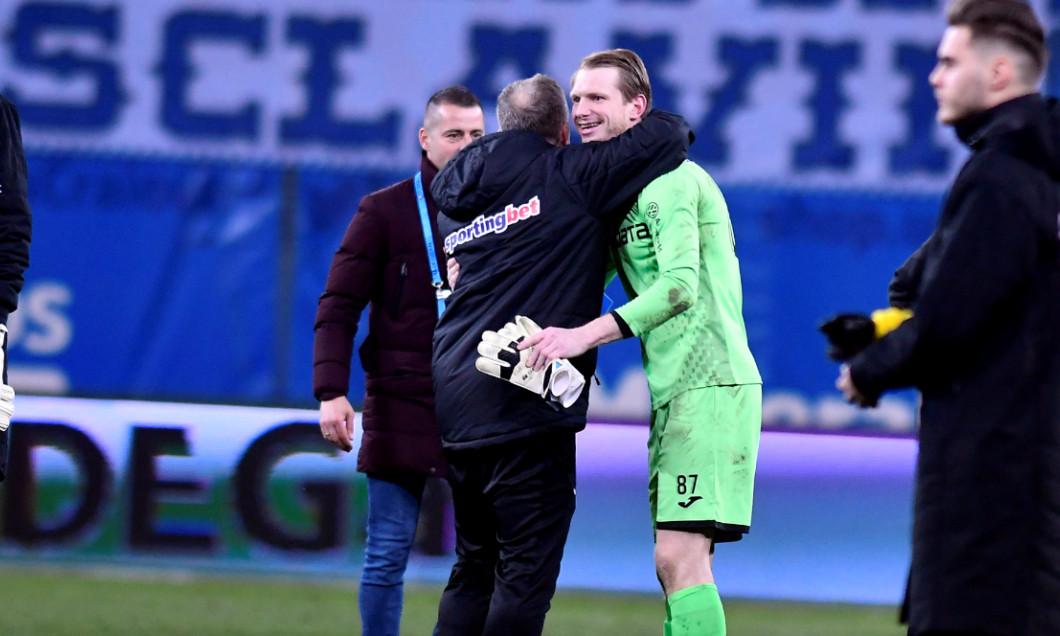 Giedrius Arlauskis, portarul CFR-ului / Foto: Sport Pictures