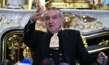 BUCHAREST: GIGI BECALI press conference