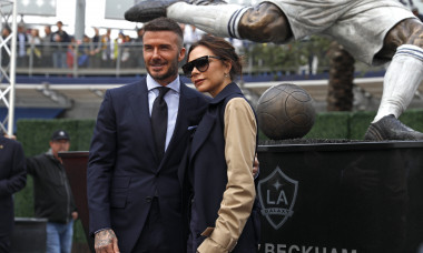 Los Angeles Galaxy Unveil David Beckham Statue