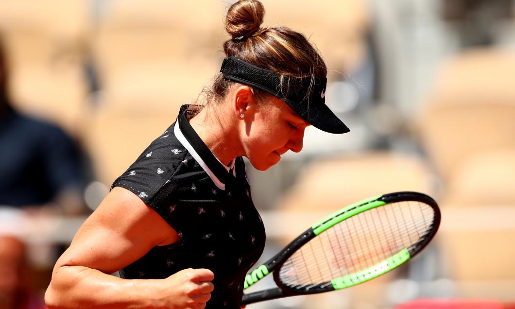 Simona Halep, la Roland Garros 2019 / Foto: Getty Images