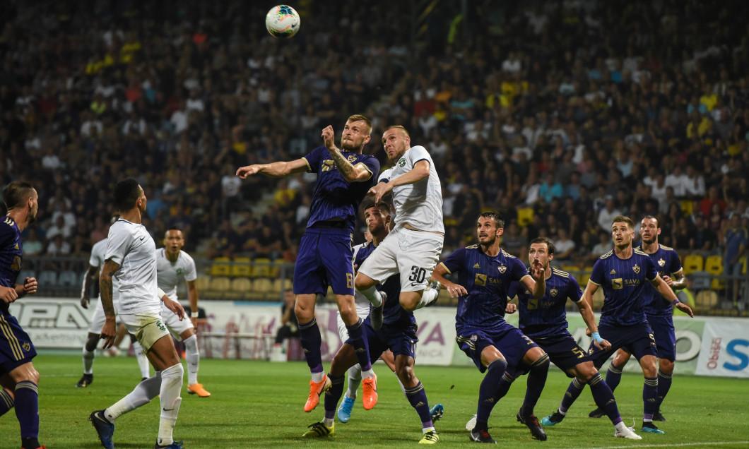 UEFA Europa League: Maribor vs Ludogorets in Slovenia - 29 Aug 2019