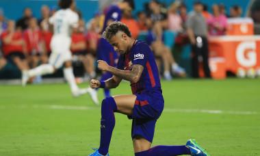Neymar, în tricoul Barcelonei / Foto: Getty Images