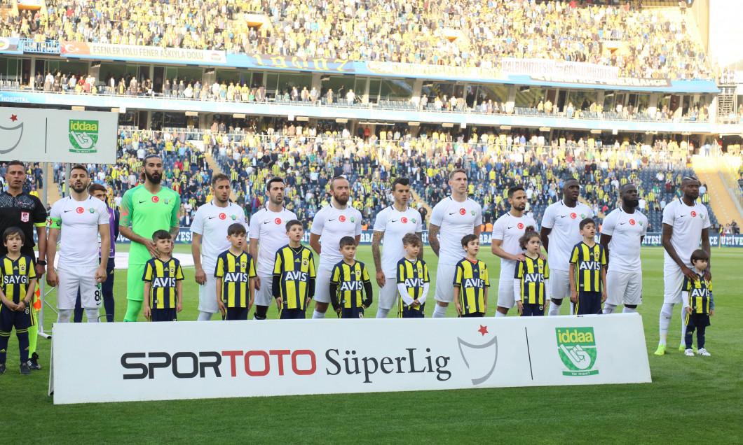 Turkish Super League football match between Fenerbahce and Akhisarspor