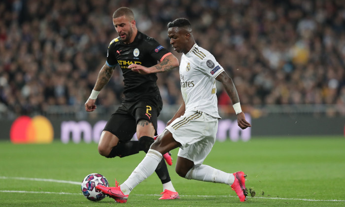 Manchester City a învins Real Madrid cu 2-1 în prima manșă / Foto: Getty Images