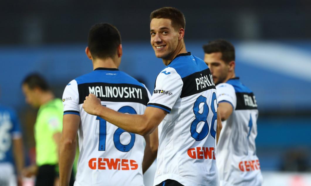 Mario Pasalic, în tricoul Atalantei / Foto: Getty Images