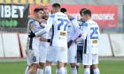 Jakub Vojtus a deschis scorul pentru Clinceni în meciul cu Chindia / Foto: Sport Pictures