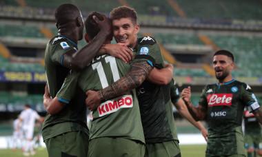Napoli a învins Verona cu 2-1 / Foto: Getty Images