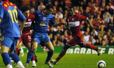 FOTBAL:MIDDLESBROUGH FC -STEAUA BUCURESTI,SEMIFINALA RETUR CUPA UEFA (27.04.2006)