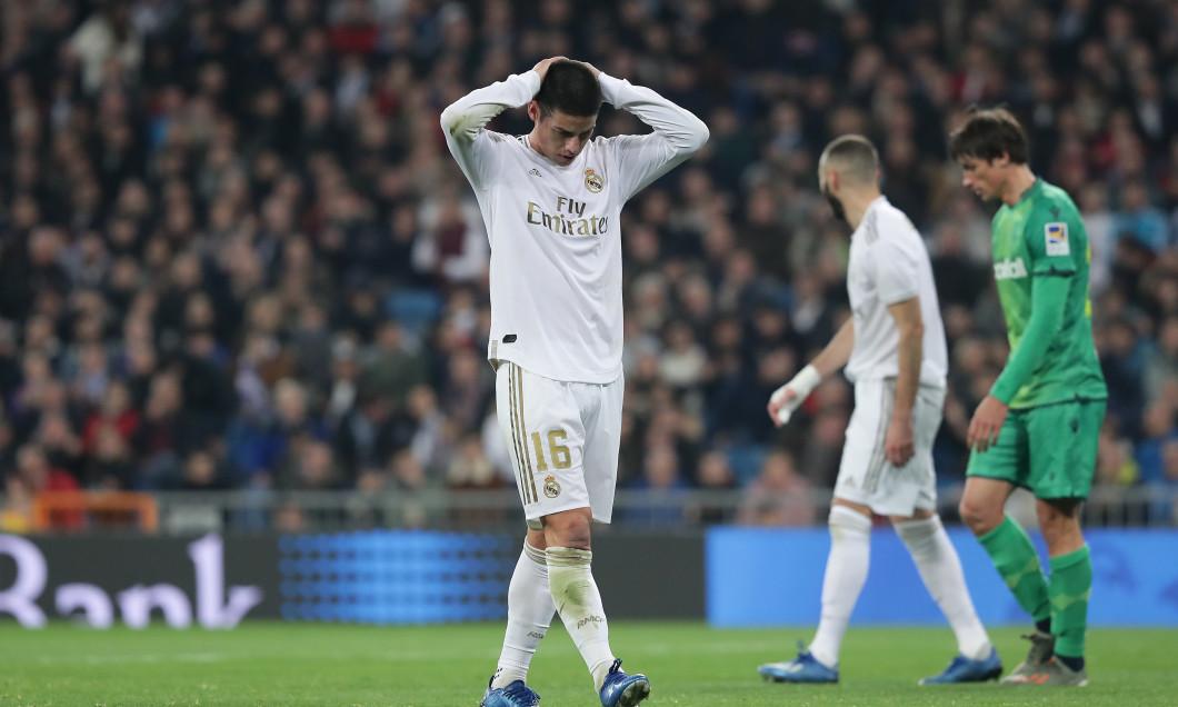 James Rodriguez, în tricoul lui Real Madrid / Foto: Getty Images