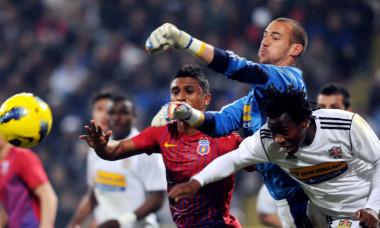 Milan Borjan, într-un meci FC Vaslui - FCSB / Foto: Sport Pictures