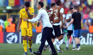 Mirel Rădoi, după meciul pierdut de România U21 cu Germania, la EURO 2019 / Foto: Getty Images