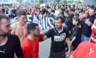 Fotbal - Fortuna liga 19/20 - Slavia - Zlín (ve žlutém), 1:0, 14. 6. 2020