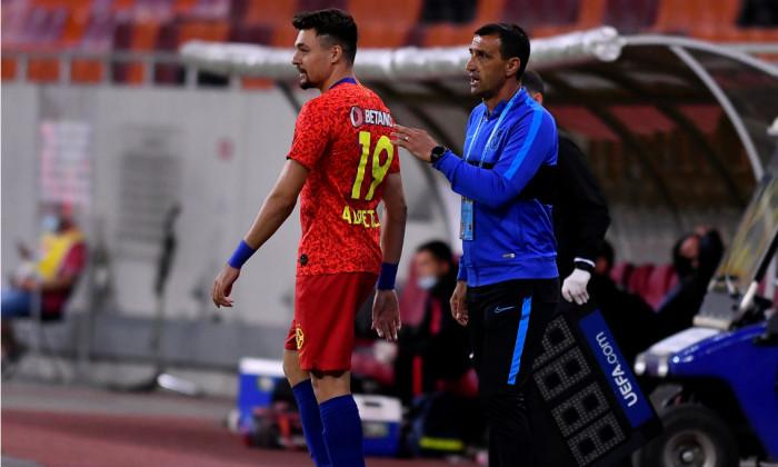 Adrian Petre, alături de Bogdan Vintilă / Foto: Sport Pictures