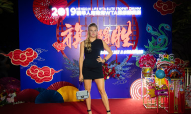 WTA Elite Trophy, Tennis, Players Party Zhuhai, China - 21 Oct 2019
