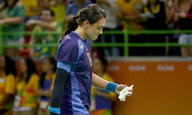 Cristina Neagu, în tricoul României, la Jocurile Olimpice de la Rio / Foto: Getty Images