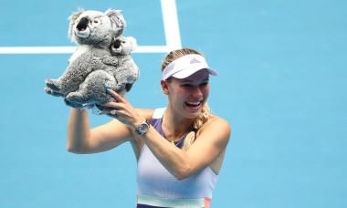 Caroline Wozniacki, campioana de la Australian Open 2018 / Foto: Getty Images