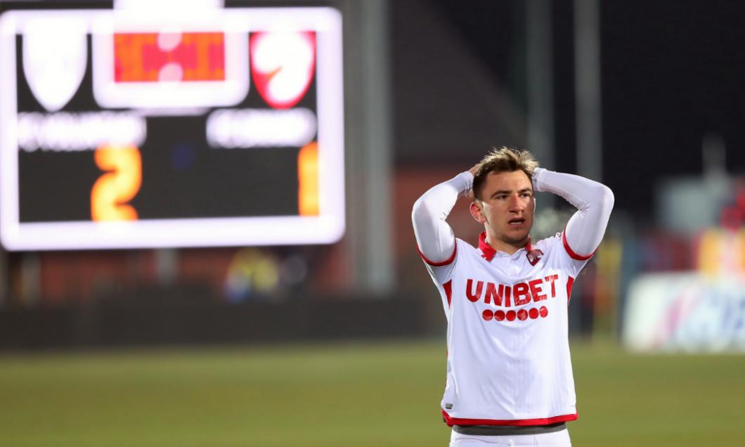 Deian Sorescu, după înfrângerea suferită de Dinamo la Voluntari / Foto: Sport Pictures