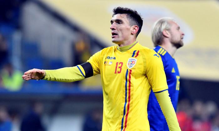 Claudiu Keseru, în tricoul echipei naționale / Foto: Sport Pictures