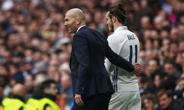 Gareth Bale, alături de Zinedine Zidane / Foto: Getty Images