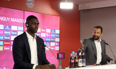 FC Bayern Muenchen Unveils Newly Signed Player Tanguy Kouassi