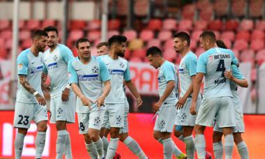 Adi Popa, după golul marcat în meciul cu Dinamo, din Cupa României / Foto: Sport Pictures