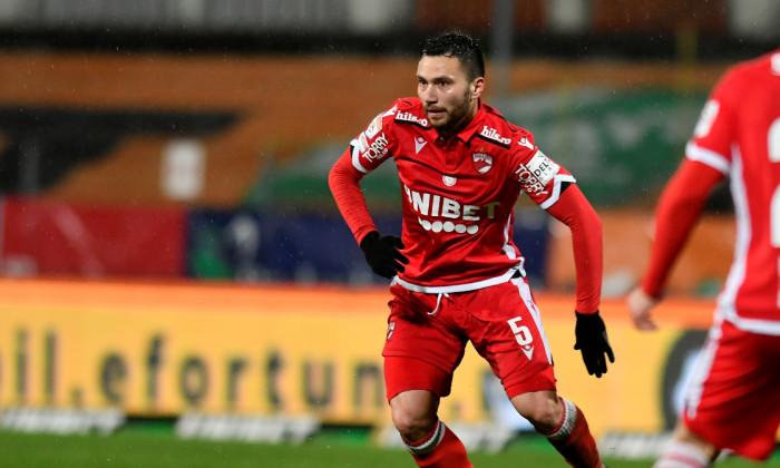 îAlexandru Răuță, mijlocașul lui Dinamo / Foto: Sport Pictures
