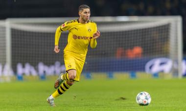Achraf Hakimi, în sezonul trecut, la Borussia Dortmund / Foto: Getty Images