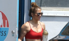 *EXCLUSIVE* Jennifer Lopez and Alex Rodriguez make a very rare appearance at the gym since going into self-quarantine together