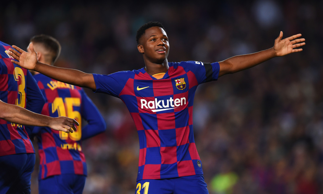 Ansu Fati, fotbalistul Barcelonei / Foto: Getty Images