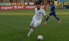 Aurelian Chițu, în meciul Voluntari - Viitorul / Foto: Captură Digi Sport